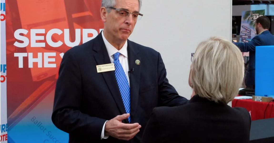 Brad Raffensperger denied election as GOP Delegate