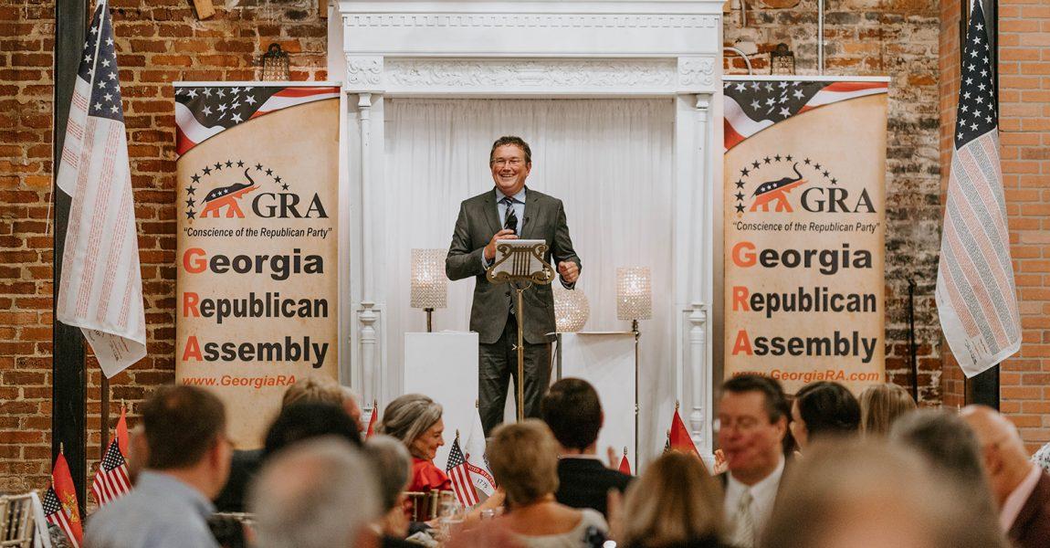 Watch the Keynote Speech from Congressman Thomas Massie (R-KY) at the GRA President's Dinner